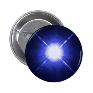 Sirius A and B - brightest glowing star Pin