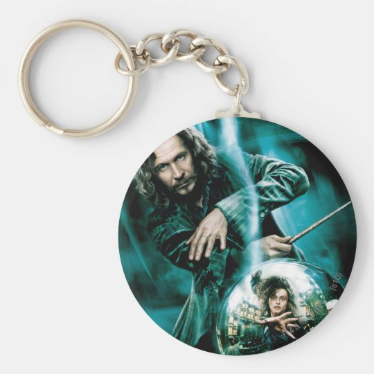 Sirius Black and Bellatrix Lestrange Basic Round Button Key Ring