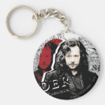 Sirius Black Basic Round Button Key Ring