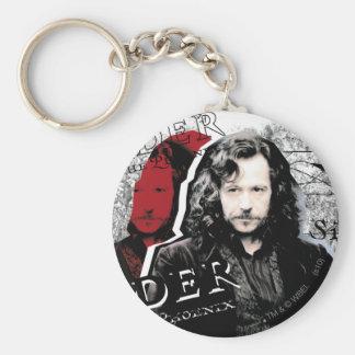 Sirius Black Basic Round Button Key Ring