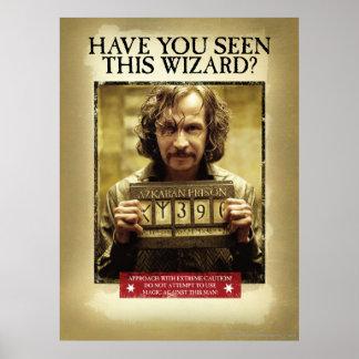 Sirius Black Wanted Poster