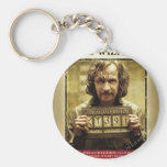 Sirius Black Wanted Poster Basic Round Button Key Ring
