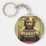 Sirius Black Wanted Poster Basic Round Button Key Ring