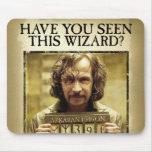 Sirius Black Wanted Poster Mousepads