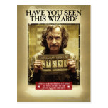 Sirius Black Wanted Poster Postcards