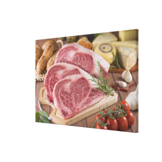 Sirloin of Beef Stretched Canvas Prints