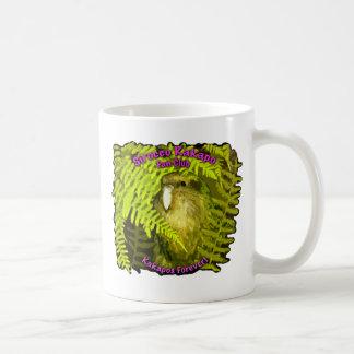 Sirocco in the Ferns Basic White Mug