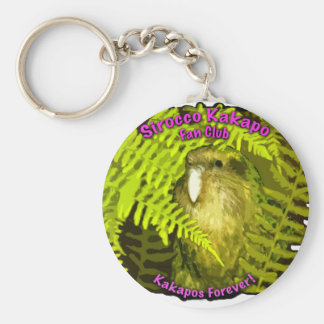 Sirocco in the Ferns Key Ring