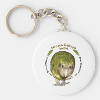 Sirocco Kakapo Fan Club Key Ring
