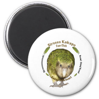 Sirocco Kakapo Fan Club Magnet