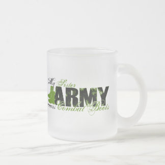 Sis Combat Boots - ARMY Frosted Glass Mug