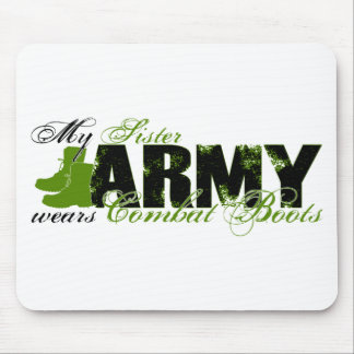Sis Combat Boots - ARMY Mouse Pad