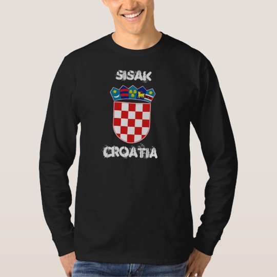 Sisak, Croatia with coat of arms T-Shirt