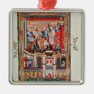 Sisinnius giving orders christmas ornament