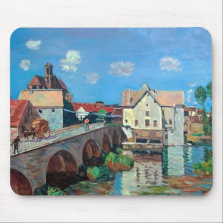 Sisley--The Bridge at Moret Mouse Mat