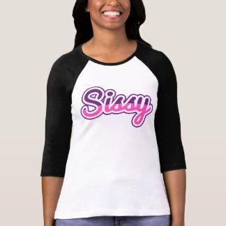 Sissy Cute Tshirt Black Sleeves