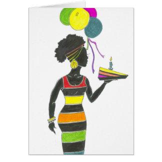 Sista Has a Sliver of Cake Card