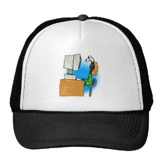 Sister Alien on Computer Hat