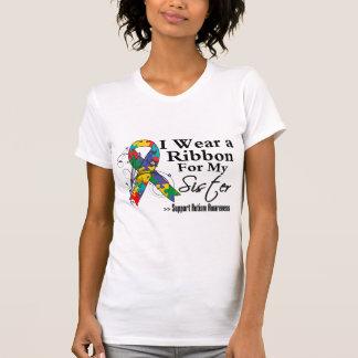 Sister - Autism Ribbon Tee Shirts