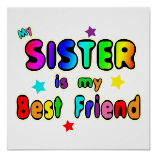 Sister Best Friend Poster