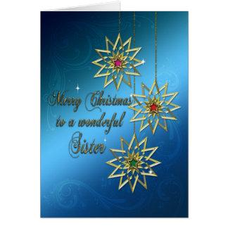 Sister, Christmas card