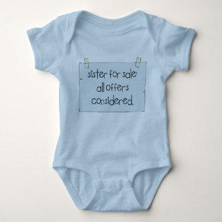 Sister for Sale Baby Bodysuit