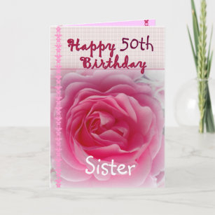 Happy 50th Birthday Sister Gifts Gift Ideas