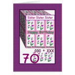 SISTER - Happy 70th Birthday
