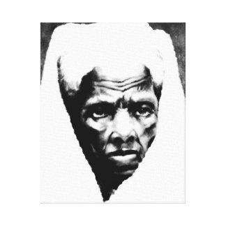 Sister Harriet Tubman - African American Hero Gallery Wrap Canvas