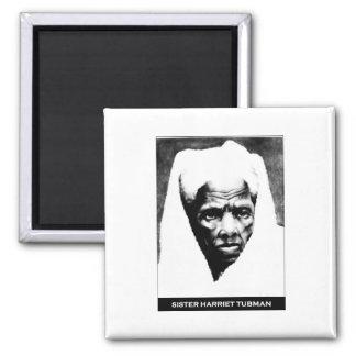 Sister Harriet Tubman Square Magnet