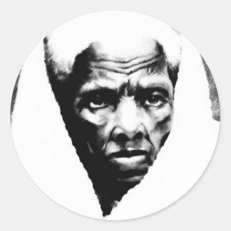 Sister Harriet Tubman Round Sticker