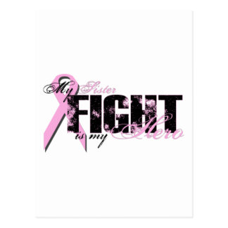 Sister Hero - Fight Breast Cancer Postcard