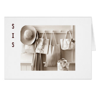 SISTER-HOPE YOUR BIRTHDAY IS SPECIAL LIKE YOU GREETING CARD