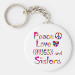 Sister Hugs Keychain
