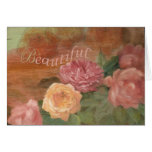 SISTER IN LAW BIRTHDAY BEAUTIFUL ROSES GREETING CARD