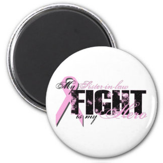 Sister-in-law Hero - Fight Breast Cancer 6 Cm Round Magnet