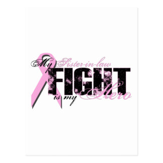 Sister-in-law Hero - Fight Breast Cancer Postcard