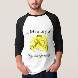 Sister-in-Law - In Memory of Military Tribute Shirt