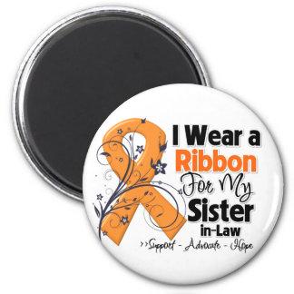Sister-in-Law - Leukemia Ribbon Magnet