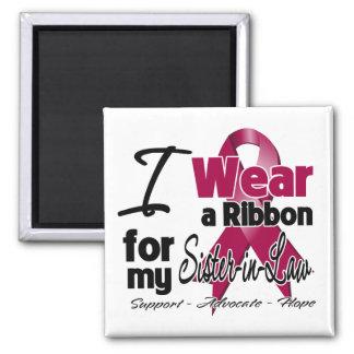Sister-in-Law - Multiple Myeloma Ribbon Fridge Magnets