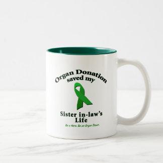 Sister-in-law Transplant Mug