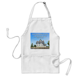 Sister Islands Lighthouse, New York Apron