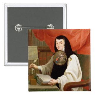 Sister Juana Ines de la Cruz 15 Cm Square Badge