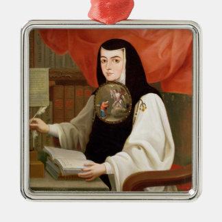 Sister Juana Ines de la Cruz Christmas Ornament
