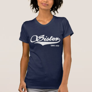 Sister Navy Blue TShirt (Available In 40 Colors)