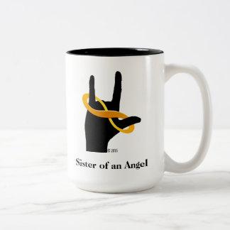 Sister of an Angel 15oz Coffee Mug