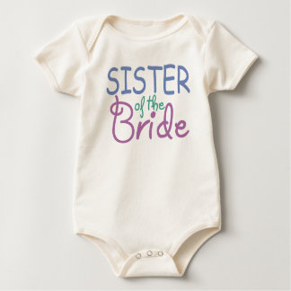 Sister of the Bride Baby Bodysuit
