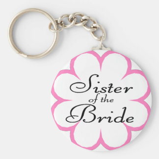 Sister Of The Bride Key Chains