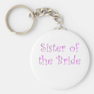 Sister of the Bride Keychains