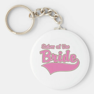 Sister of the Bride Key Chain